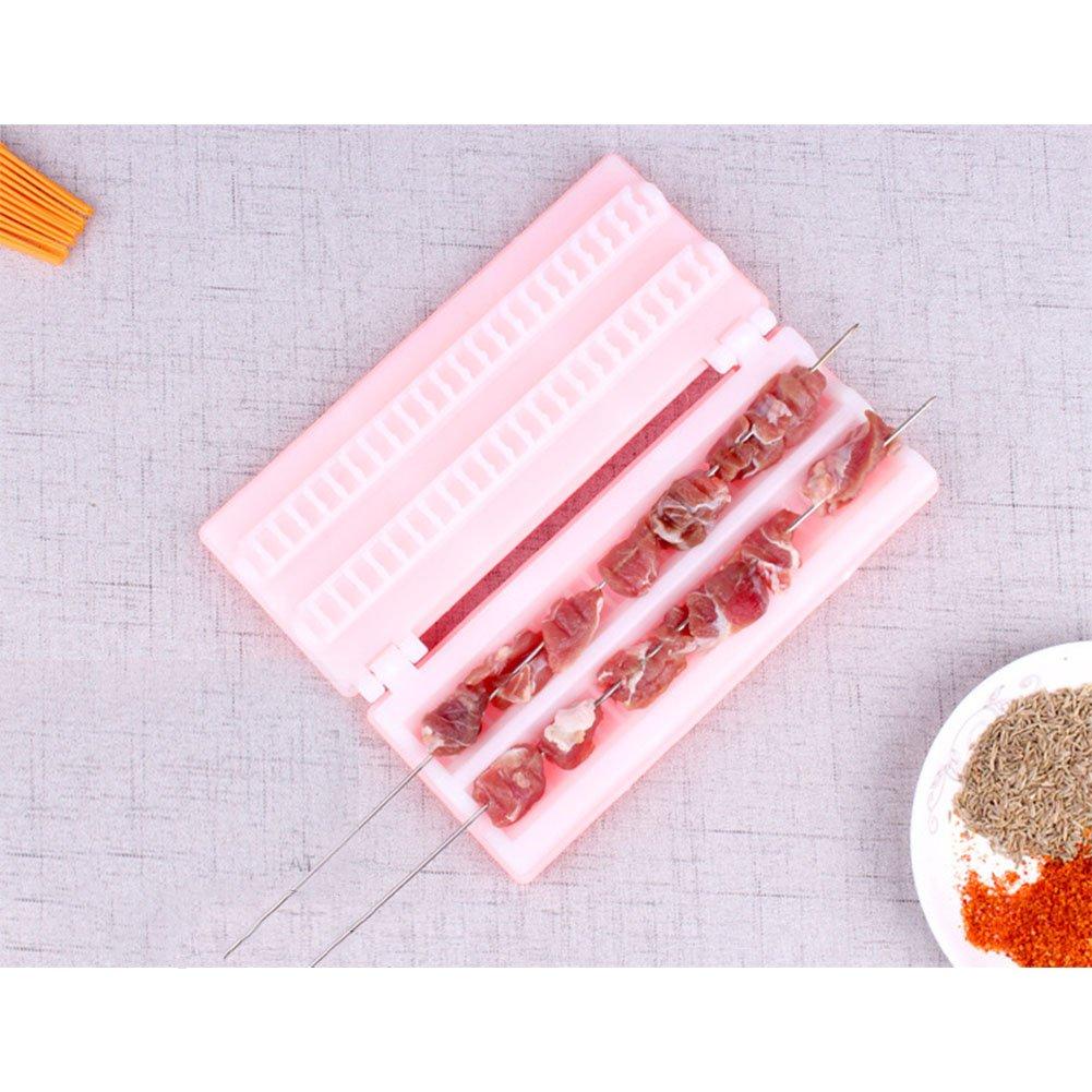 ocama Handhold zweireihig Spieße Werkzeug Barbecue Supplies