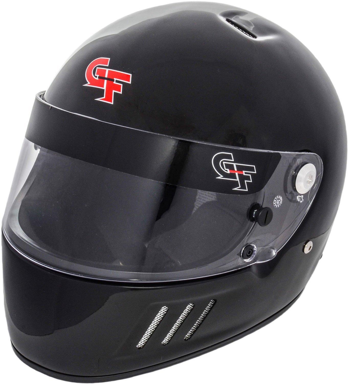 G-Force 3123XSMBK GF3 Full Face Helmet (X-Small Black SA15)