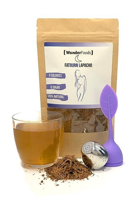 F-Burn Night de Wonderfoods | Té de lapacho | té para perder peso | dormir mejor | Alternativa a la valeriana capsulas, píldoras para dormir | quemador de ...