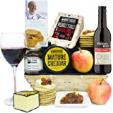 CHEESE & RED WINE HAMPER GIFT - Wonderful Cheese Baskets and Cheese Hampers by Eden4hampers