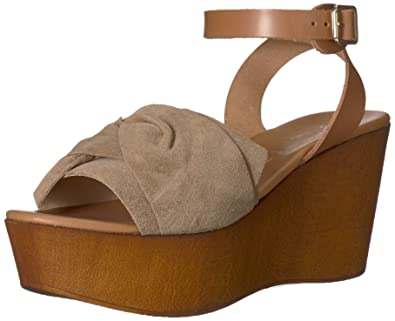 9dbb21314f59 Seychelles Women s Deep Breath Wedge Sandal Taupe 10 ...