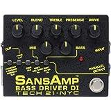 Tech21 SANSAMP 『BASS DRIVER DI V2』 ベース専用ドライブエフェクター&アンプシュミレーター&DI機能搭載 [国内正規品]