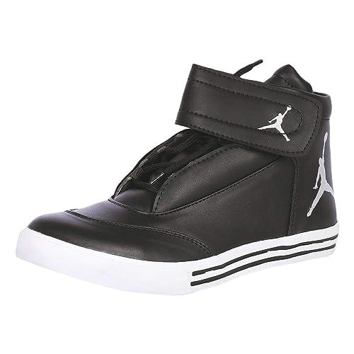 084cff482569 Stylish Step Men s Black Jordan Ankle Length Shoes (10)  Buy Online ...