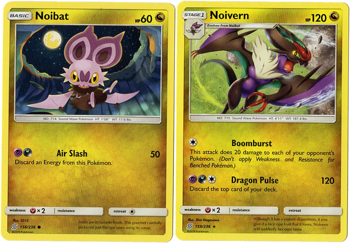 Pokemon Cards Noivern Deck Make your Selection