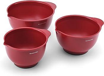 Set of 3 KitchenAid Classic Mixing Bowls
