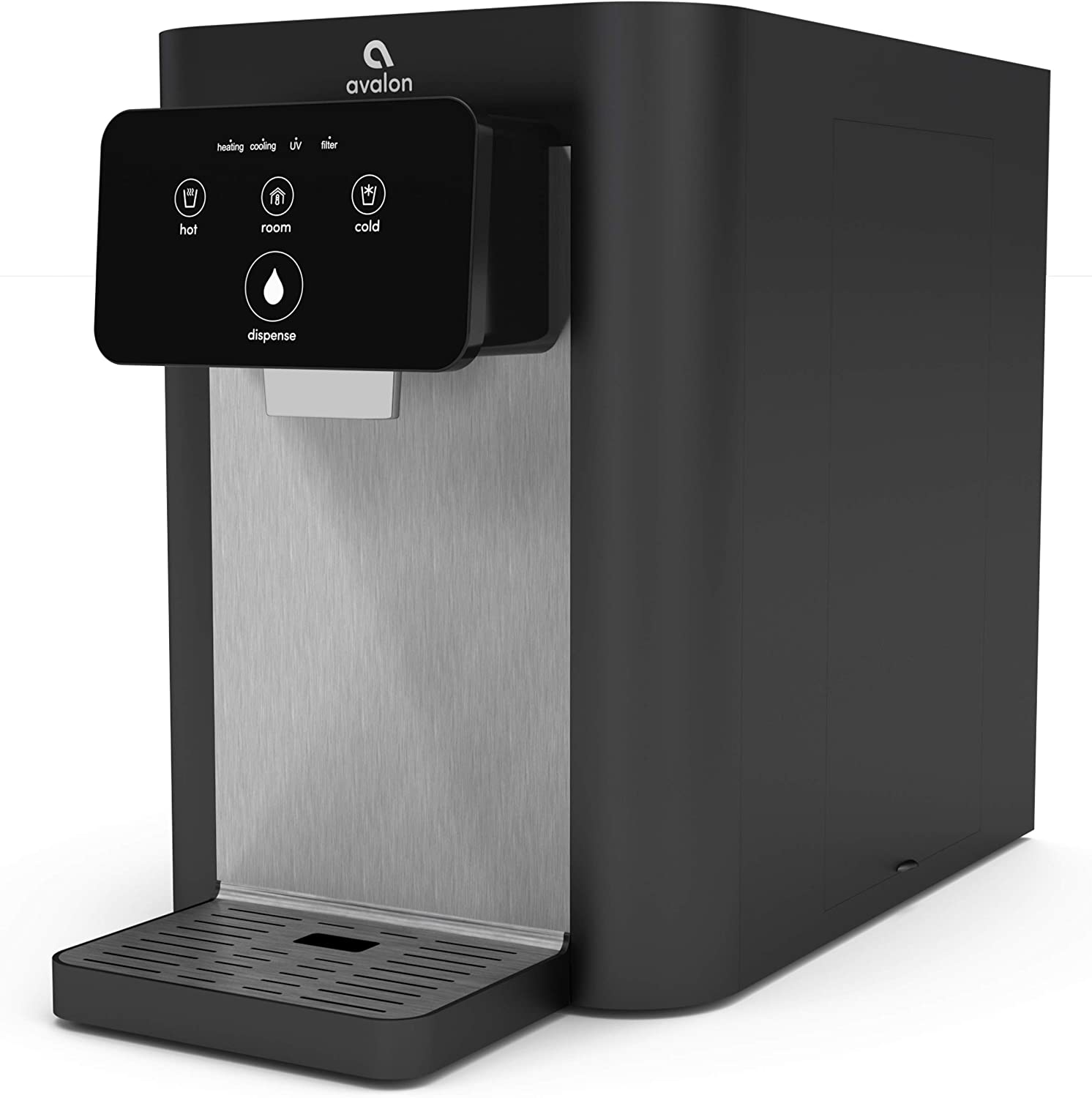 Avalon A9 Electric Touch Bottleless Cooler Water Dispenser-3 Temperatures, UV Cleaning, Electronic Countertop