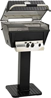 product image for Broilmaster P4-xf Premium Propane Gas Grill On Black Patio Post
