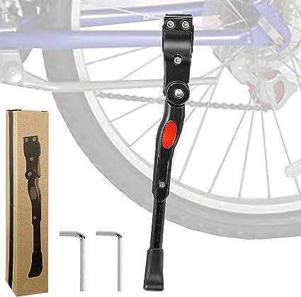 Bike Kickstand Adjustable Bicycle Side Stand Bike Support Stand Foot Kickstand