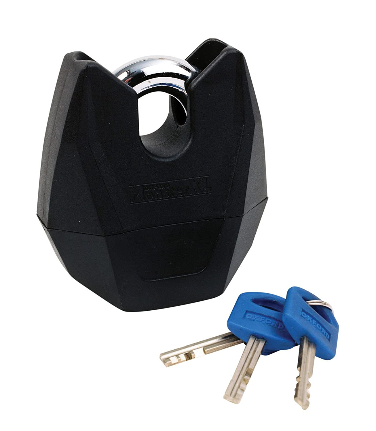 OXFORD HARDCORE XL MOTORBIKE CHAIN SHACKLE PAD LOCK 150 CM THATCHAM AND SOLD SECURE APPROVED WITH BALACLAVA FREE GIFT
