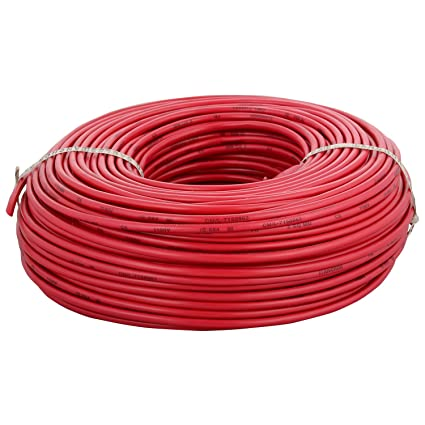 Anchor Insulated Copper PVC Cable 6.0 Sq mm Wire (Red)