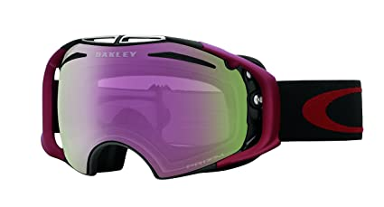 6be9740f43a Amazon.com   Oakley Airbrake Adult Goggles - Factory Pilot Blackout Prizm  Jade Iridium   Prizm HI Pink   One Size   Sports   Outdoors