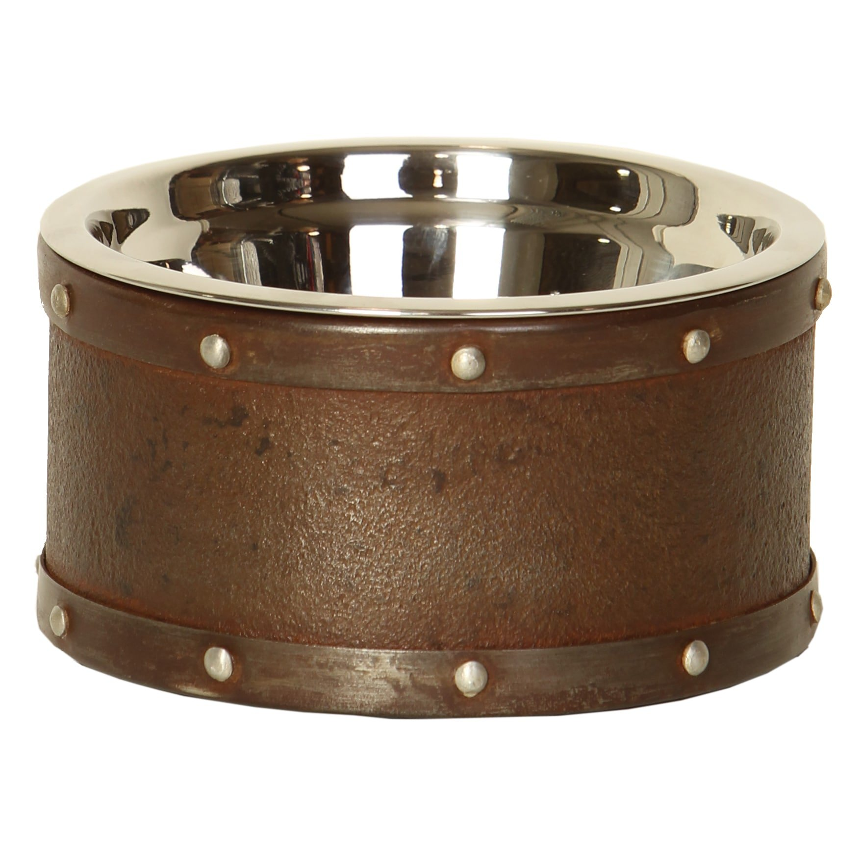 Unleashed Life Briggs Reclaimed Steel Drum Dish, Small by Unleashed Life (Image #5)