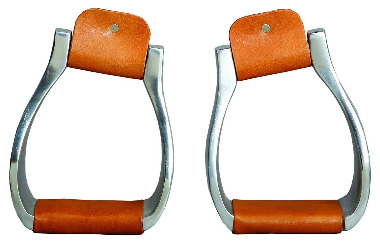 colorado Saddlery The 2-80 Slanted Top Roper Stirrups