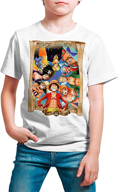 Camiseta Serie Manga y Anime Niño - Unisex One Piece: Amazon.es: Ropa y accesorios