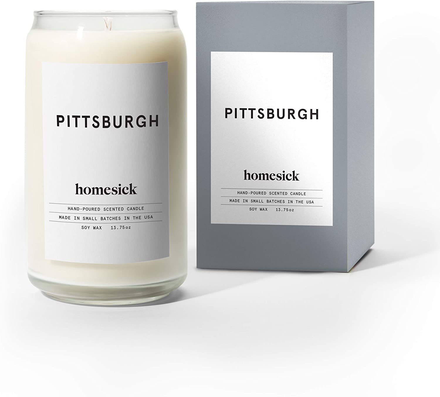 Homesick Scented Candle, Pittsburgh