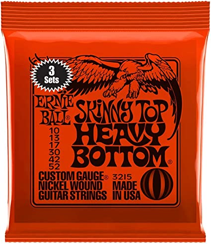 Ernie Ball Skinny Top Heavy Bottom Slinky Nickel Wound Cuerdas ...