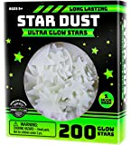 Ultra Brighter Glow in the Dark Stars; Special Deal 200 Count w/ Bonus Moon, Amazing for Children and Toddler…