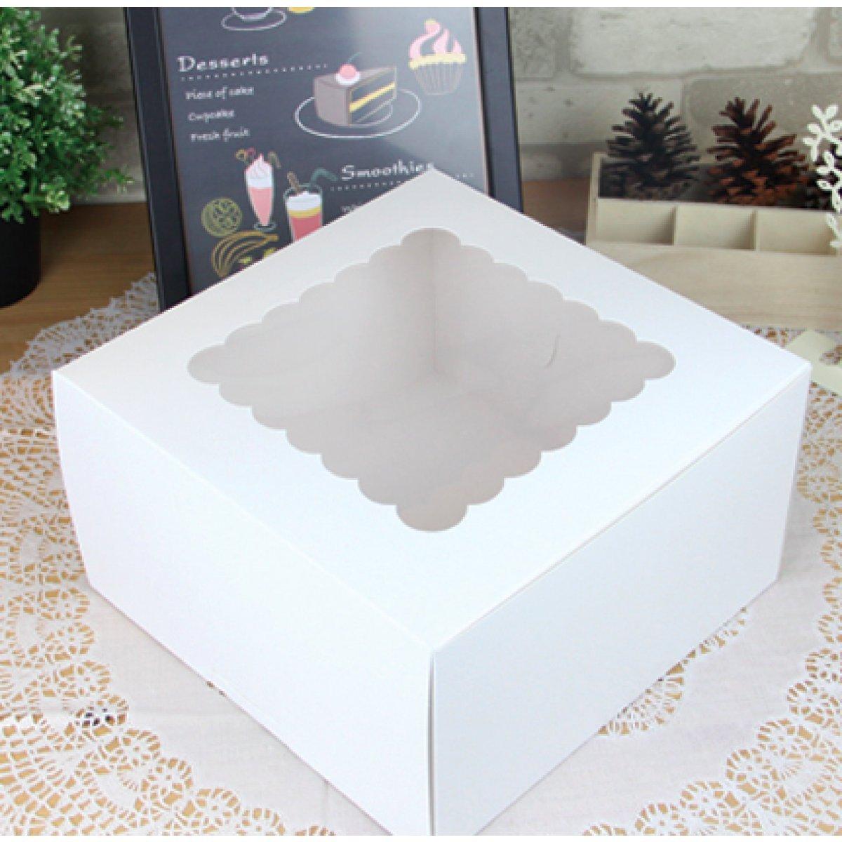 Amazon.com: Caja de torta 10