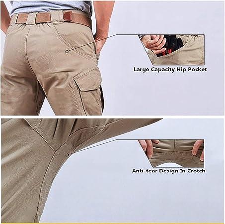 GooDoi Hommes Tactique Pantalon Cargo Pantalon Combat Casual Pantalon de Combat Tactique Pantalons pour Le Militaire Camping en Randonn/ée P/édestre,Pantalons Homme randonn/ée