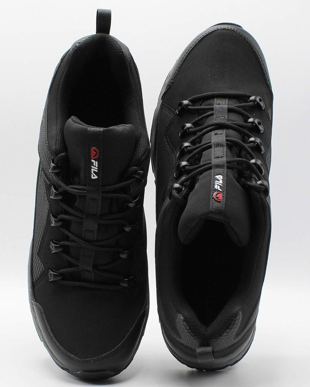 Fila Mens Switchback 2 Water Proof Hiking Shoe Black//Grey
