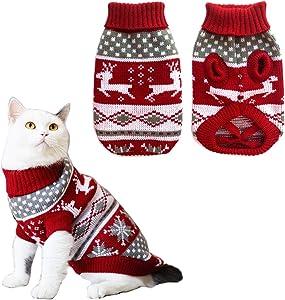 Turtleneck Kitten Sweater