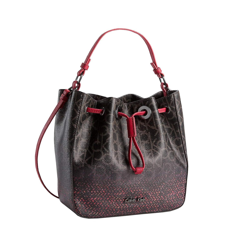 2807ff03baa0 Calvin Klein Womens Jordan Ombre Drawstring Bucket Bag (One size ...