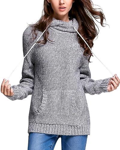 Zhili Jersey De Cuello Alto Para Mujer suéter