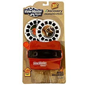 Basic Fun View Master Classic Viewer with Reels Discovery: Endangered Species
