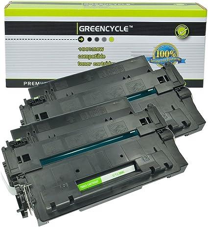 10 PK 55A CE255A Toner Cartridge Compatible For HP LaserJet P3010 P3015 P3015dn