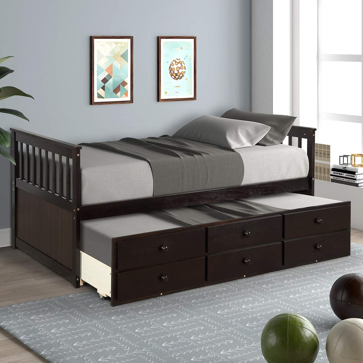 Storage Twin Daybed