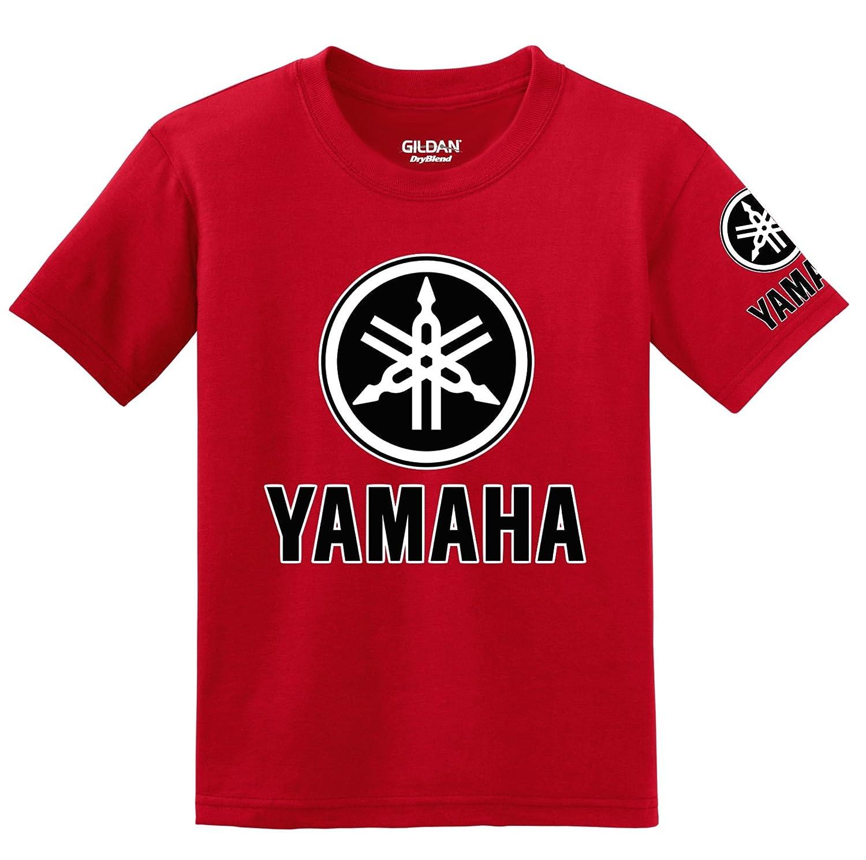 Yamaha Logo with Sleeve T-shirt