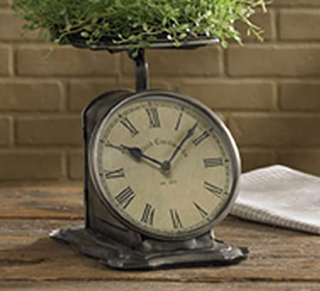 Park Designs Countertop Scale Clock