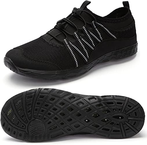 Moerdeng Men/'S Quick Drying Water Shoes Lightweight Aqua Shoes For Sports Outdoo