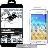 Film Protecteur d'écran en VERRE TREMPE pour Samsung Galaxy Trend 2 Lite SM-G318H Ultra Transparent Ultra Résistant INRAYABLE INVISIBLE