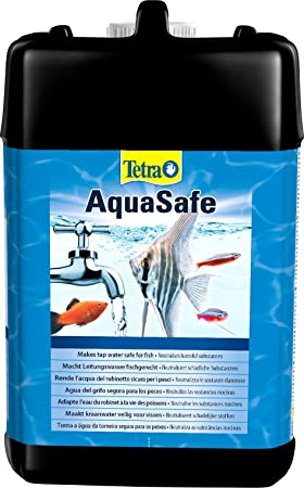 Tetra AquaSafe T513, Purificador de agua para peces de acuario, 5000 ml