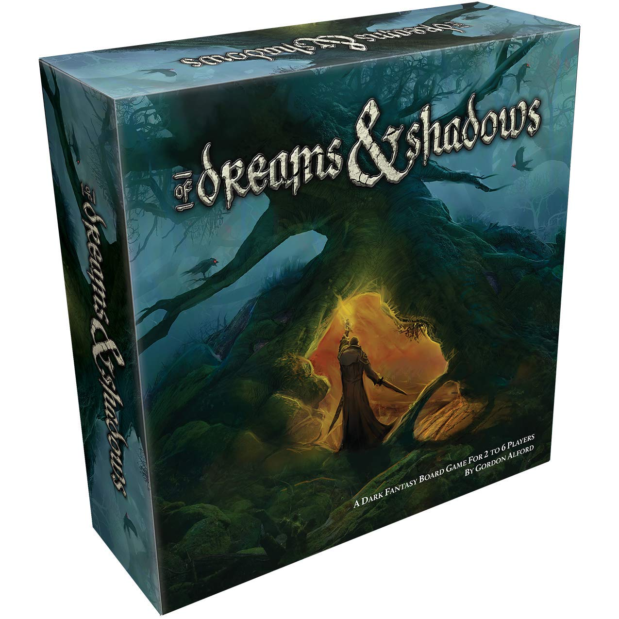 de la segunda edición de Dreams & Shadows, multicolor