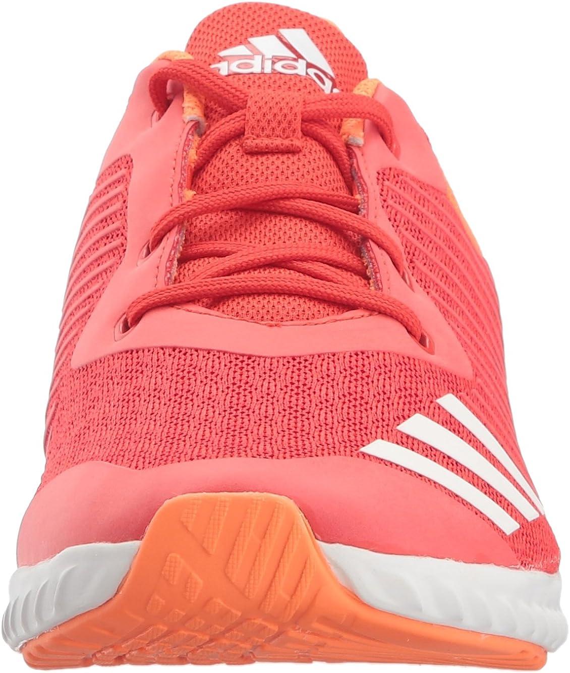 Adidas Fortarun Chaussures de course pour garçon Rouge Blanc Orange Haute Résolution