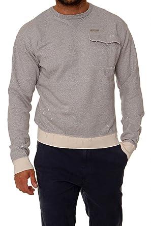 Dsquared² Herren Pullover Sweatshirt , Farbe: Hellgrau