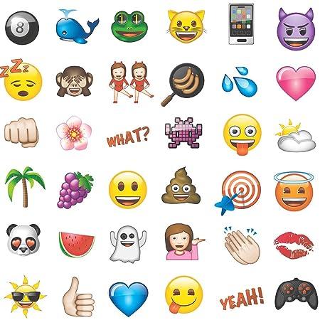 Debona Emoji Wallpaper White Fun Easy To Hang Quality
