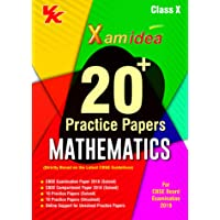 Xam Idea 20 Plus CBSE Sample Papers Mathematics Class 10 for 2019 Exam