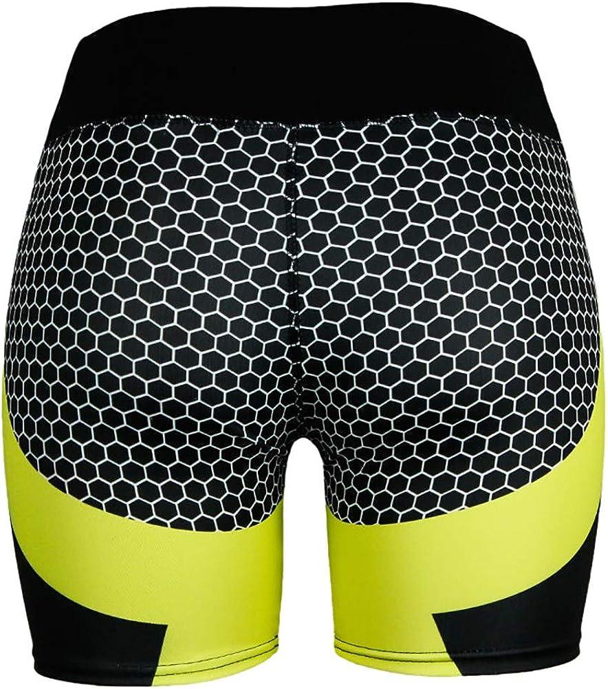 EFINNY Hirigin Jogger Shorts 2019 New Geometric Print Women Running Shorts
