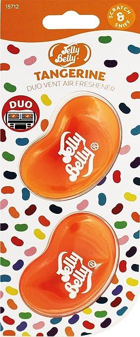 Jelly Belly 15712 A 3d Gel Mini Vent Lufterfrischer Duo Pack Tangerine Auto