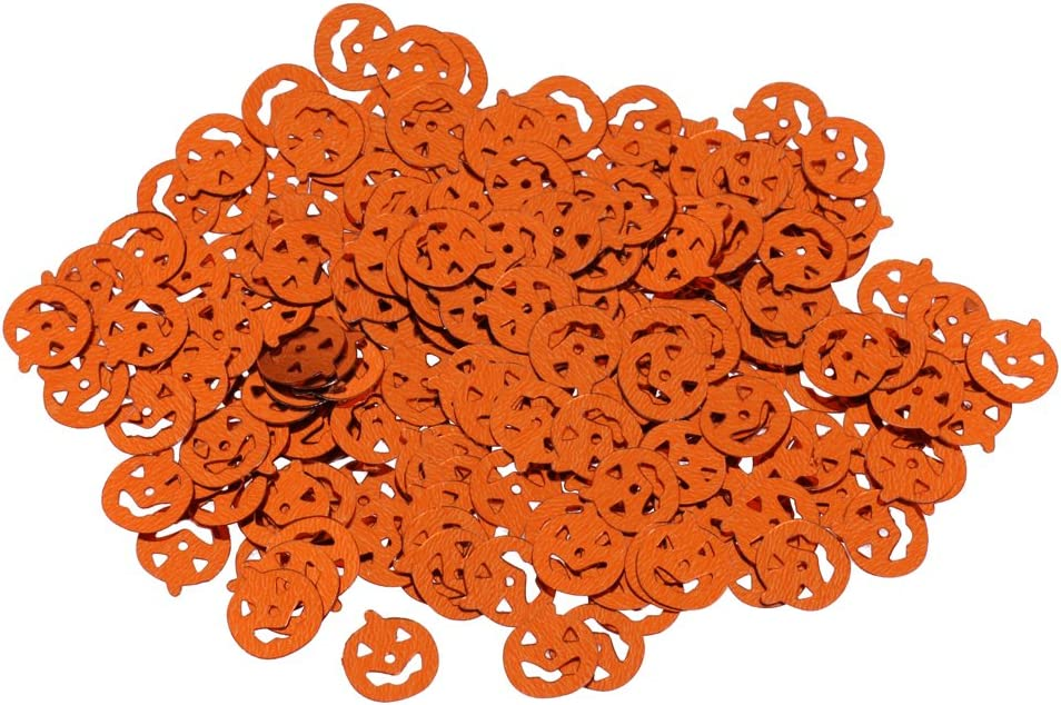 Araign/ée Noir et Rouge Sharplace 15g//Lot Confettis de Table Scatter Plastique Accessoire D/éco Halloween