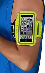 Brassard StilGut pour iPhone SE & 5/5s, Galaxy S4 mini, LG G2 mini (appareils 4 pouces), vert