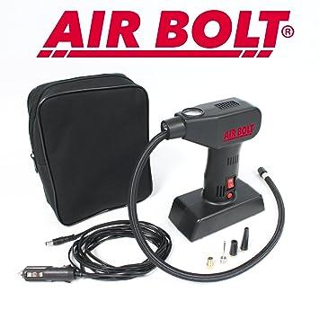 Air Bolt – Compresor de aire Compacto – infle sus neumáticos de coche, de bicicleta, de carretilla y sus juguetes de piscina: Amazon.es: Coche y moto