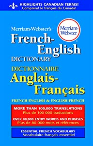 Merriam-Webster French-English Paperback Dictionary