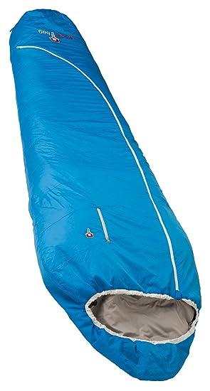 Grüezi-Bag-Saco de Dormir con Relleno de Lana biopod Plus 215x 78/50cm: Amazon.es: Deportes y aire libre