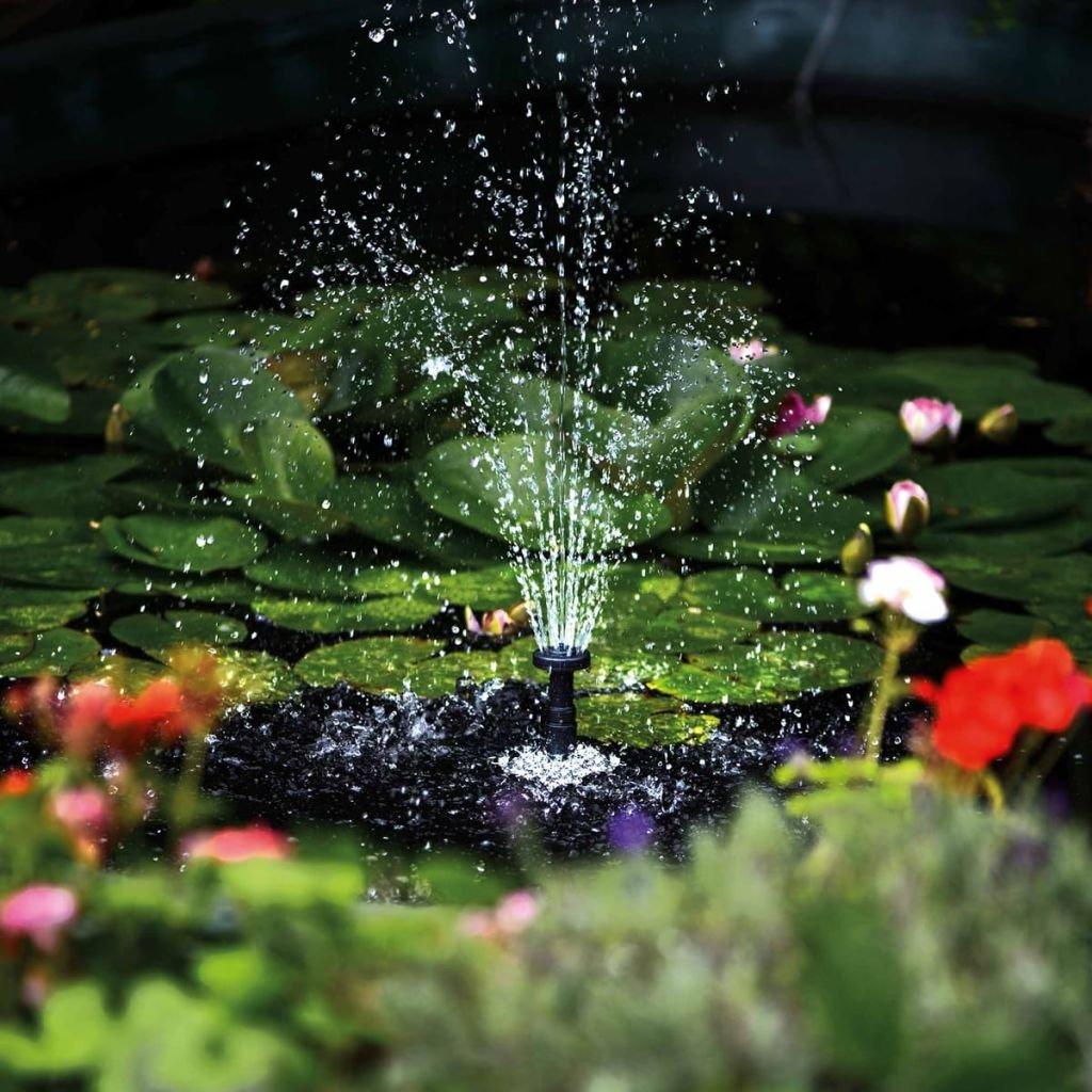 Hozelock fonteinpomp Cascade 1500 + LED verlichting: Amazon.de: Baumarkt