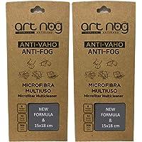 Pack 2 Gamuzas antivaho microfibra 15x18cm Toallita paño antivaho nueva versión para todo tipo de lentes