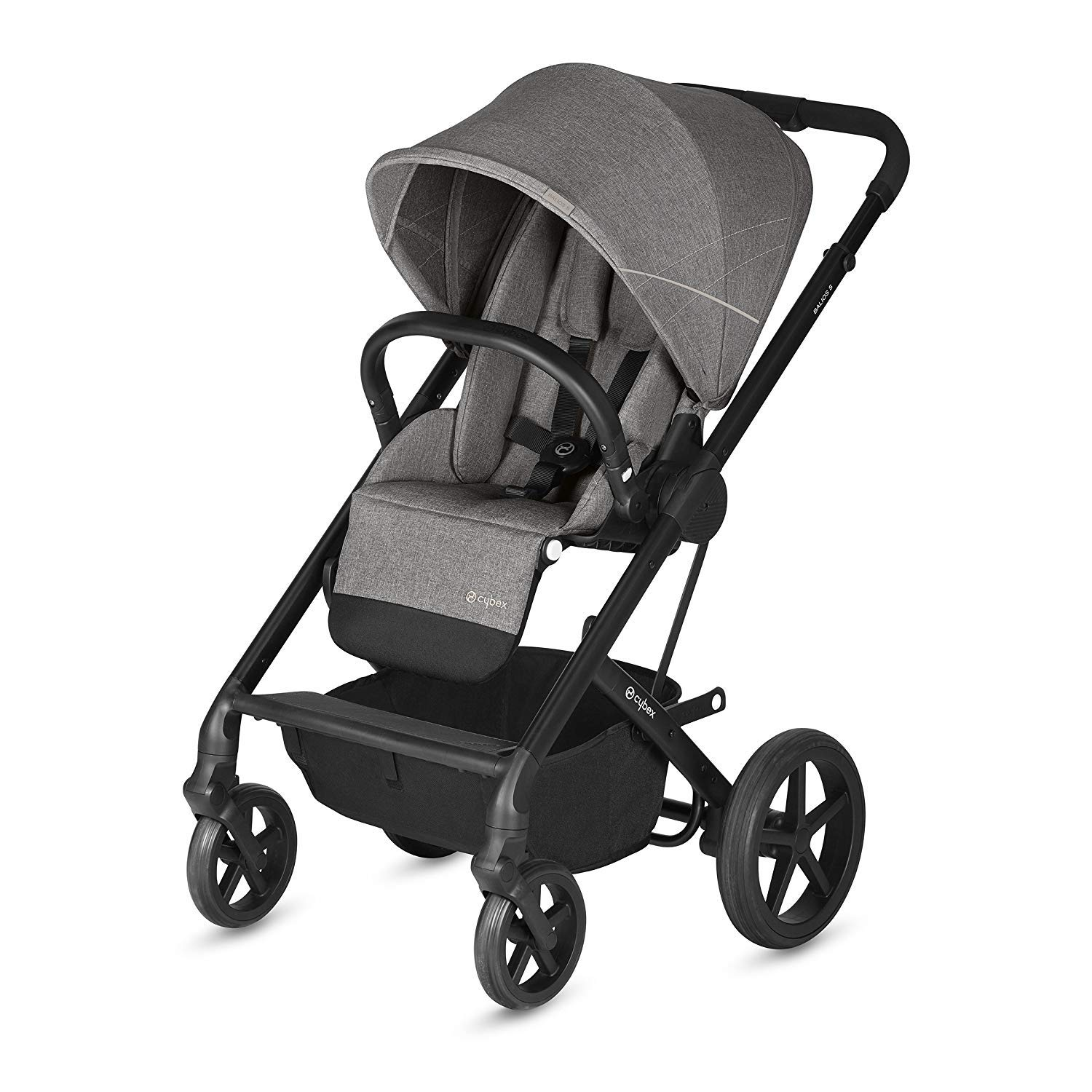 Cybex 2019 Balios S Denim Collection Stroller in Manhattan Grey